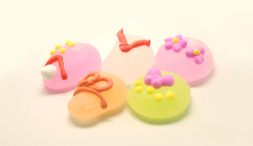Pretty-looking sweets