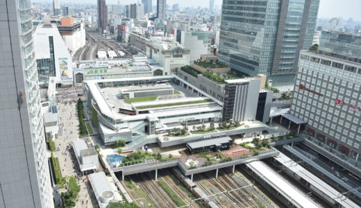 Shinjuku Station of Labyrinth
